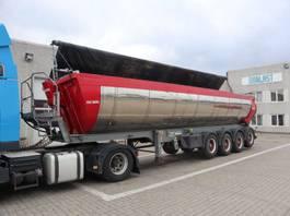 tipper semi trailer Kel-Berg Asfalt med aut. pres. 2015