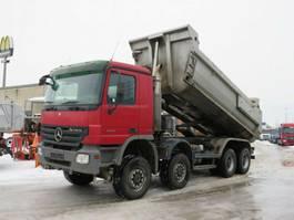 tipper truck Mercedes-Benz Actros 4144 AK 8x8 4 Achs Muldenkipper Meiller 2008