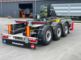 swap body trailer semi trailer KAESSBOHRER 20 FT ADR, Liftachse, Leer nur 3,2 to. 2021