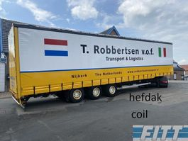 mega-volume semi trailer LAG MEGA schuifzeilen, schuif/hef dak, COIL 2007