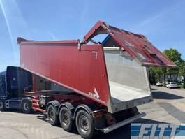 tipper semi trailer Stas TGX 18.520 2013 kipper 45 m3 - icm MAN 2015 TGX 18.520 Euro 6 - Retarder - 417500 km 2013