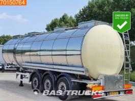 tank semi trailer semi trailer Feldbinder TSA 41.3-3 ADR 2001