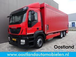 other trucks Iveco Stralis 360 Euro6 Dranken transport / Schuifzeilen / Laadklep / Automaat / Vangmuil ... 2014