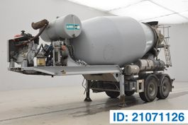 concrete mixer semi trailer MOL Mixer 10M³ 2011