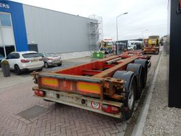 container chassis semi trailer Renders EURO 800 / 2X Extendable / BPW + Drum 2001