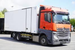 refrigerated truck Mercedes-Benz Actros 2542 , E6 , 19 EPAL , MULTI-TEMPERATURE , retarder , 2 be 2016