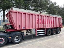tipper semi trailer MOL 38m³ - 3-AXLES ALU TIPPER / STEEL CHASSIS - BENNE ALU / CHASSIS ACIER - ALU KIPPER / STAHL RAHMEN 1996
