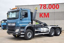 container truck DAF CF 370 6x4 -  78.000 KM - CONTAINER SYSTEEM- CONTAINER SISTEEM- CONTAINER HAAKSYSTEEM- SYSTEME CONTENEUR 2014