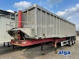tipper semi trailer Kel-Berg Alu, 47m³, Luft-Lift, BPW-Achsen, Getreide 1995