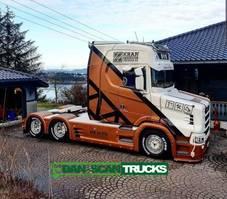 conventional - torpedo cab Scania S650 V8 Torpedo NTG hydr. system full Air suspension 2019