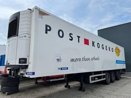 refrigerated semi trailer Pacton HZO 39, Koeloplegger, carrier, stuuras, laadklep 2007