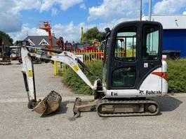 mini digger crawler Bobcat E16 2011