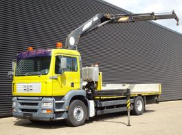 crane truck MAN TG 360A 4x2 / MANUAL / 16.5 t/m CRANE / KRAN 2001