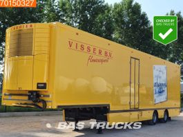 refrigerated semi trailer Floor FLSDO1220K Lenkachse LBW Mulder-Aufbau Carrier Vector 1800 2007