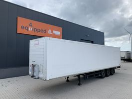 closed box semi trailer Schmitz Cargobull SKO 24, gegalvaniseerd, volledig chassis, schijfremmen, NL-trailer, APK: 11/2021 2007