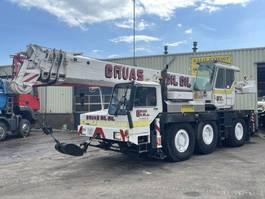 crane truck Liebherr LTM 1040 Crane 40 Ton 6x4x6 + Jib Good Condition 1991