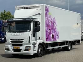 box truck Iveco EuroCargo 120 E 22 EEV KOFFER / LBW 2014