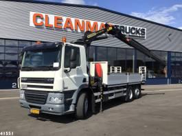 crane truck DAF CF 85 FAN 360 Palfinger 14 ton/meter laadkraan 2012