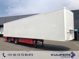 closed box semi trailer Renders 2 as Gestuurd X-steering / Box / Laadklep / APK TUV 10-2021 ! 2012
