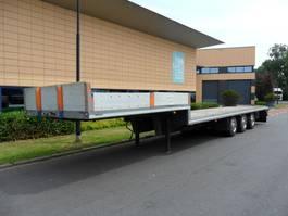 semi lowloader semi trailer DRACO D.T.3A.1200-2700. 1987