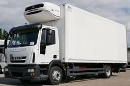 refrigerated truck Iveco EuroCargo 120 120E25 Kühlkoffer 3-Sitzer LBW E5 2013