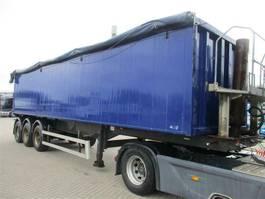 tipper semi trailer HRD 3 AkS Tip trailer 48 kbm 2006
