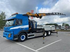 crane truck Volvo FM 450 6x2-4600 Globe Euro-6 2015