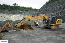 crawler excavator Caterpillar 330 w/ rotor tilt, GPS, weight, digging bucket and 2019