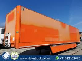closed box semi trailer Krone 2 AXLE DRYLINER ephicas back doors 2013