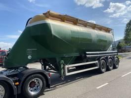 tank semi trailer semi trailer Feldbinder EUT 40 3 + TANK 40.000 LITER 1998