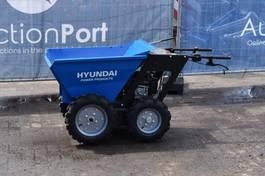 site dumper wheeled Hyundai Minidumper 2015