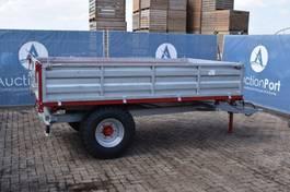 tipper trailer agricultural Agromet 4500kg 2021
