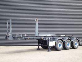 container chassis semi trailer Van Hool 3C002 / 30 TON HAAK SYSTEEM / LIFT AS 2018