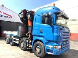 crane truck Scania R480 Palfinger 85002 JIB PJ 170 2007