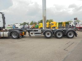 container chassis semi trailer D-TEC FT-43-03V 2007