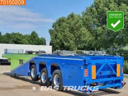 lowloader semi trailer Faymonville ILO-3 Prefa-3HL 3 axles Innenlader 2x Liftachse BPW 2012