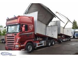 tipper truck > 7.5 t Scania R620-V8 Combi, Side opening, Euro 4, Topline, Truckcenter Apeldoorn 2008