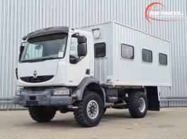 box truck Renault Midlum 280 DXi 4x4 -Passagiers, Passenger -Camper -Expeditie- Container 2008