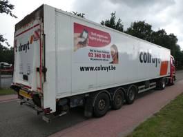 closed box semi trailer Van Hool 3B0064 2003