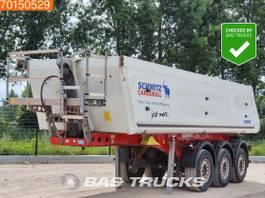 tipper semi trailer Schmitz Cargobull SKI24 3 axles Liftachse 24m3 Alu-Kipper 2011