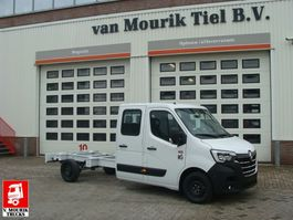 chassis lcv Renault MASTER 145.35 DUBBELE CABINE  - EURO 6 2021