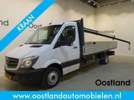 platform lcv Mercedes-Benz 516 WB 432 Automaat Pick Up / Hiab 013T Kraan / Open Laadbak / Airco / C... 2015