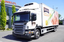 refrigerated truck Scania P280 , E5 , Meat hooks , 18 EPAL , tail lift 1500 kg 2011