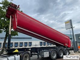 tipper semi trailer Meiller KISA3 BPW - Belgium - Weigh system 2014