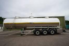 tank semi trailer semi trailer Magyar 3 AXLE FOOD TANK TRAILER 2003