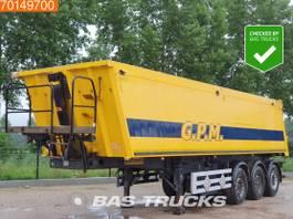 tipper semi trailer Wielton NW-3 3 axles 38m3 Alu-Kipper Liftachse APK bis 07-2022! 2014