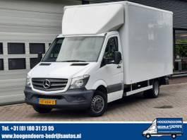closed lcv Mercedes-Benz 513 CDI 7G-Tronic Automaat Bakwagen Dhollandia Klep 2013