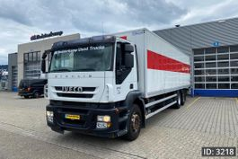 box truck Iveco Stralis 260 AD260S31 Active Day, Euro 5, // Steel-Air // Manual Gearbox // Euro 5 2008