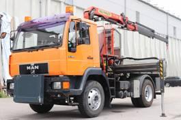 Kipper < 7.5 Tonnen MAN 14.225 3S Kipper 4x2 E3 Kran PK7501 Orig. Km! 2001