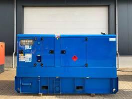 generator Atlas Copco Volvo Mecc Alte Spa 130 kVA Supersilent Rental generatorset 2010
